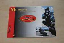 167349) Moto Guzzi - Modellprogramm - Prospekt 01/1998