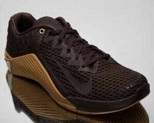 Nike Metcon 6 Premium Men's Baroque Brown Gym Cross Fit Training Shoes Sneakers