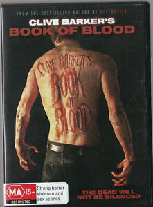 VERY GOOD DVD BOOK OF BLOOD Clive Barker