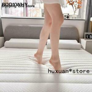 10cm Thickness Fashion Latex Mattress Folding Full Size Bed Breathe Foam Tatami