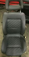 AUDI 80 B4 CABRIOLET COUPE BLUE SILK RECARO STYLE FRONT RIGHT DRIVER SIDE SEAT
