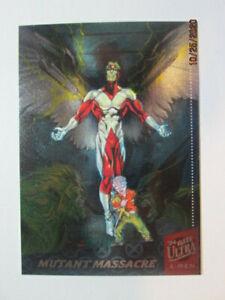 1994 FLEER ULTRA X-MEN - SILVER X-OVER CARD - ( 1 OF 6 ) MUTANT MASSACRE
