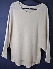 NEW JOIE 'Anissa' Dolman Sleeve Cashmere Sweater- Beige S $268