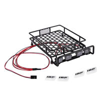 RC 1/10 Alloy Roof Rack w/ Square LED Light for Redcat Buggy  Truck