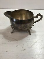 Vintage Silver Plated Creamer  International Silver Co. Good Condition
