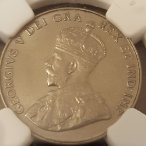 1935 Canada 5 Cent   NGC MS62    only 3 graded higher by NGC