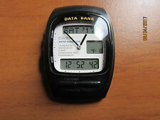 VINTAGE CASIO AB-50W DATA BANK TELEMEMO 50 CHRONOGRAPH 50M MADE IN JAPAN