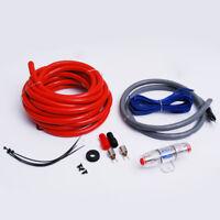 8 GA AWG Gauge Car Audio Amp Amplifier Wiring Power Installation Kit Fuse Holder