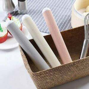 Plastic Non Stick Textured Rolling Pin Baking Pastry Fondant