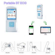 CONTEC Portable ECG EKG Machine Color Screen ECG Monitor Handheld
