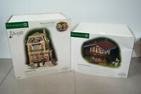 DEPT 56 Dickens Gad's Hill Chalet + Fred Holiwell's House