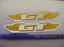 GT wing logo decals foil 4Bar 065 Pro Speed Pro Power Series Mach One Odi BMX