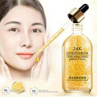 24K Gold Facial Skin Care Anti wrinkle Anti-Aging Face Essence Serum Cream 30ml