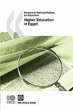 Higher Education in Egypt by Organisation for Economic Co-operation and...