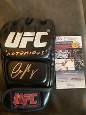 "Conor McGregor Autographed Signed UFC Glove ""Notorious"" Inscription JSA COA"