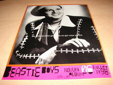 BEASTIE BOYS - 1998!!!!!!!!!!!!!!!!!FRENCH PRESS ADVERT
