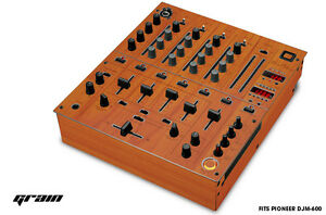 Pelle Decal Avvolgere per Pioneer DJM-600 Dj Mixer CD Audio Pro DJM600 Ricambi -