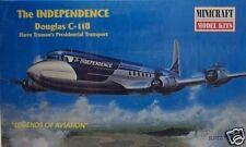 "Minicraft 1/144 Douglas C-118 Independence Truman""s Presidential Transport 14447"