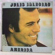 """33 tours JULIO IGLESIAS Disque Vinyle LP 12"""" AMERICA - CBS 82846 Frais Reduit"""