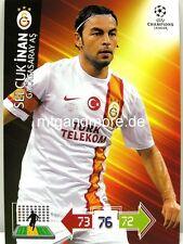 Adrenalyn XL Champions League 2012/2013 - Galatasaray AS Spieler aussuchen