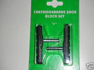 BICYCLE BIKE BMX MTB Cartridge Brake Shoe Block Pad NEW