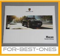 NEU Porsche Macan 95B Serviceheft Pflegepass Checkheft Garantie bis 2018 record