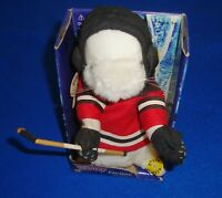 2002 Gemmy Jacque Dancing Singing Animated Hockey Hamster with Box