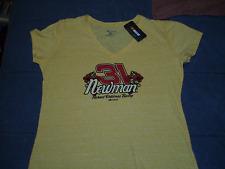 Ladies Ryan Newman #31 Faded Yellow NASCAR RCR Size Large TShirt NWT! CUTE!!