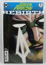 DC Comics GREEN ARROW Rebirth Issue #1 001 Regular Cover Comic Book King Snyder