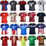 Superhero T-shirt Costume Short Sleeve Slim Fit Shirt Athletic Cycling Jersey US