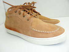 Pointer Men's Mathieson Mid Tan Suede Sneaker Size 7