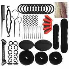 French Braid Plaiting Twist Braider Roller Hook Bun Maker Hair Styling Tool