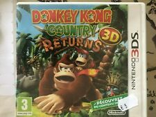 Boite vide Donkey kong country returns pour 3DS