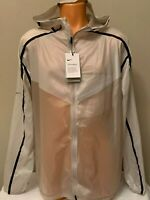 Mens Nike Tech Pack Light Running Full Zip Beige Jacket Size L Large AQ6711-286