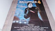 HALLOWEEN 4  :  Michael Myers  ! affiche cinema horreur