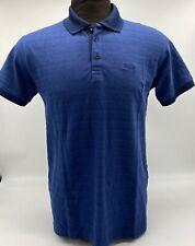 Hugo Boss Polo For Men Stretch cotton Polyester mix Regular fit Color Dark Blue