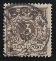 31414) VERBREITERTES FORMAT Mi.-Nr. 45 Db gestempelt RATIBOR 1892 (100,00 €)