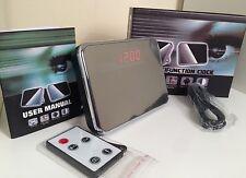 Digital Spy Camera Alarm Clock Hidden Cam Motion Detector 24 Hours Recording UK