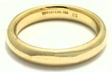 MEN'S TIFFANY & CO. WEDDING RING 18K YELLOW GOLD *Free shipping* 9 Grams