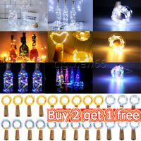 LED Wine Bottle Cork with 2M 20 Lights on a String Bottle Battery Operated Party