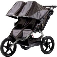 Britax Double Stroller Pushchair Buggy Black
