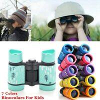 Gift For Kids Rubber Telescope Binoculars Pocket Rubber Telescope For Children