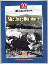 Maquis Et Résistance - Seconde Guerre Mondiale - Trésor Du Patrimoine 2006 - WW2