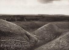 1926 Vintage UK England ROMAN RAMPARTS Dorchester Landscape Photo Art E.O. HOPPE