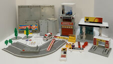Tomy Tomica Car Building Lot Gas Station , Rescue , Parking Track And Garage