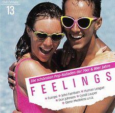 FEELINGS VOL. 13 : DIE SCHÖNSTEN POP-BALLADEN DER 70ER UND 80ER JAHRE / CD