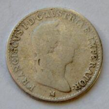 Italy, 1/4 Lira 1823, Franz I,  Lombardy- Venetia, Milan Mint