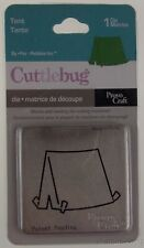 Cuttlebug Tent Die Lot 5 Provo Craft Camping Scrapbook Card Home Decor Scout 2x2