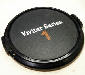 Vivitar 62mm Lens Front Cap Snap on type for seres 1 f2.8