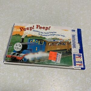Thomas the Tank Train Engine Invitations with envelopes and seals 8ct.
